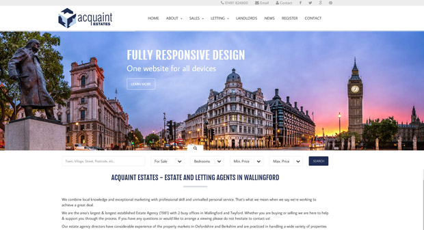 Acquaint Demo Website